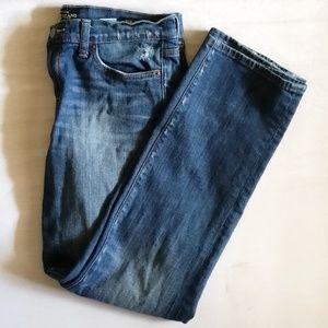 Lucky Brand Zoe Skinny Distressed Jeans